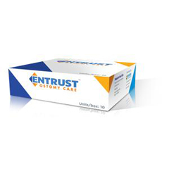 IND65111212A-BX - Fortis Medical - Entrust 1 Piece Drainable Cut To Fit, 3/4 - 2-1/2 Stoma, Transparent, Standard Wear, 12, 10/BX