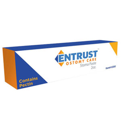 IND656301-EA - Fortis Medical - Entrust Ostomy No Sting Pectin-Based Paste 2 oz. Tube, 1/EA