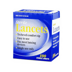 IND67743500-BX - Trividia - Lancet 28G, 100/BX