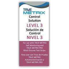 IND67R5H013-EA - Trividia - TRUE Metrix Level 3 (High) Control Solution, 1/EA