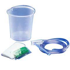 IND68145546-CS - Medtronic - Plastic Enema Bucket 1, 400 cc, 50/CS