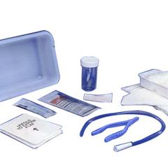 IND683143-EA - Cardinal Health - CURITY Dover Vinyl Open Urethral Catheter Tray 14 Fr, 1/EA