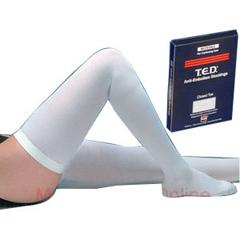 IND684304-EA - Medtronic - T.E.D. Thigh Length Continuing Care Anti-Embolism Stockings Medium, Long, 1/EA