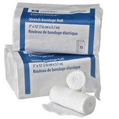 IND68441500-PK - Cardinal Health - Dermacea Non-Sterile Stretch Bandage 2 x 4-1/10 yds., 12/PK
