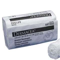 IND68441507-PK - Cardinal Health - Dermacea Sterile Stretch Bandage 6 x 4 yds. (Stretched) 75 (Relaxed), 12/PK