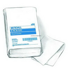 IND686040N-PK - MedtronicKendall White Washcloth 10 x 13, 50/PK
