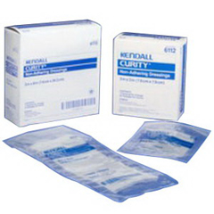 IND686114-BX - Cardinal Health - CURITY Non-Adhering Oil Emulsion Dressing 3 x 16 Rectangle, 36/BX