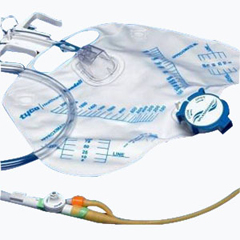 IND686154-EA - Cardinal Health - Curity 100% Silicone 2-Way Foley Tray 5 cc, 1/EA