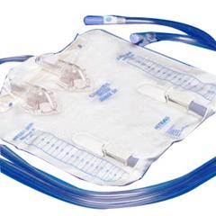 MON159601CS - Cardinal Health - Curity Urinary Drain Bag w/o Valve 4000 mL Vinyl