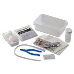 IND6875000-CS - MedtronicKENGUARD Dover Vinyl Open Urethral Catheter Tray 14 Fr, 1/EA