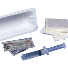 IND6876012-EA - Cardinal Health - Kenguard Universal Catheter Tray with 10 cc Pre-Filled Syringe, 1/EA