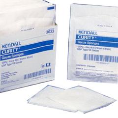 IND687605-PK - Cardinal Health - Curity Sterile Gauze Sponge 4 x 4 16 ply, 10/PK