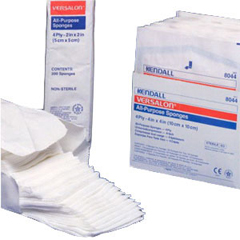 IND688046-BX - Cardinal Health - Curity All Purpose Sterile Non-Woven Sponge 3 x 4, 4-Ply, 50/BX