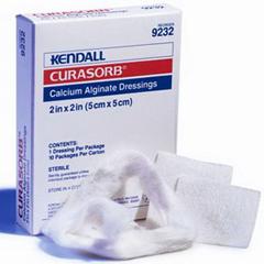 IND689238-BX - Cardinal Health - Curasorb Calcium Alginate Dressing 8 x 4 Rectangle, 5/BX