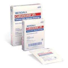 IND689356-CS - Cardinal Health - Curasorb Zinc Calcium Alginate Dressing, 4 X 8, 50/CS