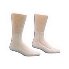 IND8435551PK-EA - Salk - HealthDri Acrylic Diabetic Sock Size 9 - 11, White, One Pair