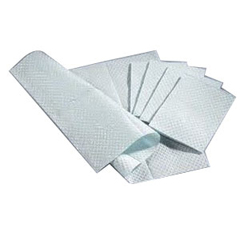 IND96209122-CS - Seneca Medical - Poly Towel, 13X18, White, 3 Ply Tissue, Plybck, 500, 500/CS