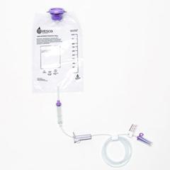 IND97032-EA - Vesco Medical - Gravity Bag 1000 mL Feeding Set, Latex-Free, 1/EA
