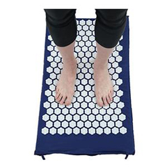 INDACNKANSAPF-EA - AcutensKanjo Acupressure Memory Foam Foot Mat, Sapphire, 1/EA