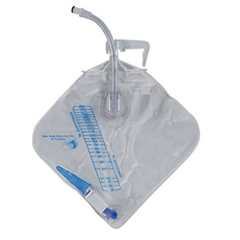 INDARSA450XMAC30-EA - Arcus Medical - Urine Meter 200 mL with Drainage Bag 2, 000 mL, 2 Drainage Bags, 1/EA