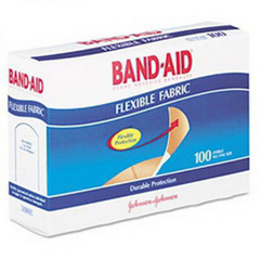 INDAS29802-BX - Conney Safety Products - Direct Safety Flexible Fabric Adhesive Bandages 3/4x 3, 100/BX