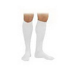 INDBI110830-EA - Jobst - SensiFoot Knee-High Mild Compression Diabetic Sock X-Small, White, One Pair