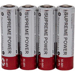 INDCBSPAAKAMX4-PK - Supreme Technologies - External Infusion Pump AA Alkaline 1.5v Battery, 4/Pkg, 4/PK