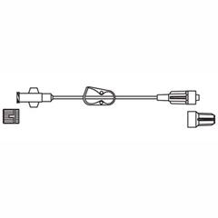 INDCODBC505-CS - Codan - Minibore Extension Set 14, 3/10mL Priming Volume, Female Luer-Lock, On/Off Clamp, 50/CS