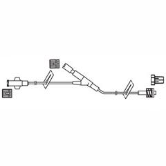 INDCODBC593-CS - Codan - Minibore Extension Set 8, 2/7mL Priming Volume, Y-Port 4 Above Spin-lock, 50/CS