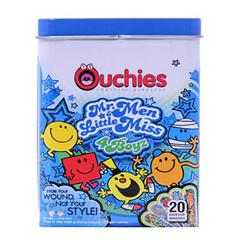 INDCOS102802-BX - Cosrich GroupOuchies Mr. Men and Little Miss 4 Boyz Bandages 20 ct, 20/BX