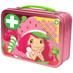 INDCOSSS3015-EA - Cosrich GroupStrawberry Shortcake First Aid Kit, 75 Piece, 75/EA