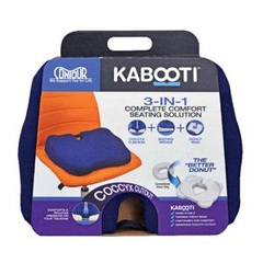 INDCTP30750B1952-EA - ContourKabooti Comfort Ring with Blue Cover, 17-1/2 x 13-1/2 x 3-1/4, 1/EA