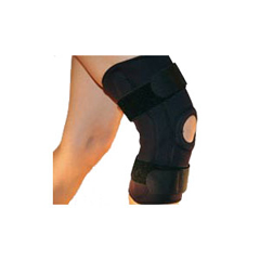 INDDCICK1054-EA - Delco - Hinged Knee Brace, Large, 1/EA