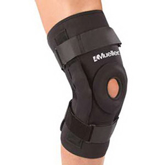 INDFO5333XL-EA - Mueller Sports - PRO-LEVEL Hinged Knee Brace Deluxe, X-Large, 1/EA