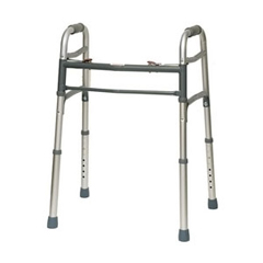 INDISG1050GWY - PMIDeluxe 2 Button Youth Folding Walker, 1/EA