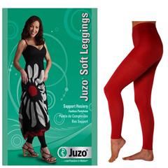 INDJU2000BT641-EA - Juzo - Soft Leggings, 15-20, Regular 28-1/4 - 32-3/4, Fiesta Red, Size 1, 1/EA