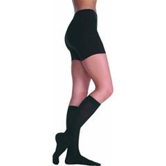 INDJU2001ADFFSH210-EA - Juzo - Soft Knee-High, 20-30 mmHg, Full Foot, Short, Size 2, Black, 1/EA