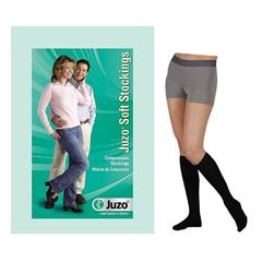 INDJU2001ADRFF103-EA - Juzo - Soft Knee-High, 20-30, Full Foot, Regular, Black, Size 3, 1/EA