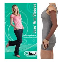 INDJU2001CGRSB232-EA - Juzo - Soft Arm Sleeve with Silicone Border, 20-30, Regular, Chestnut, Size 2, 1/EA