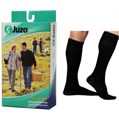 INDJU2002ADFF102-EA - Juzo - Soft Knee-High, 30-40, Regular, Full Foot, Black, Size 2, 1/EA