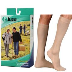 INDJU2002ADFFSB143-PK - Juzo - Soft Knee-High with Silicone Border, 30-40, Full Foot, Beige, Size 3, 1/PK