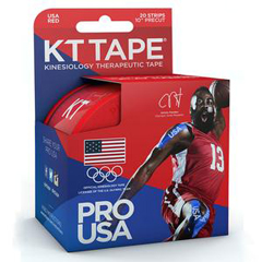 INDKJ9020260-BX - KT Health - Red Team USA Pro Synthetic Tape, 4 x 4, 20/BX