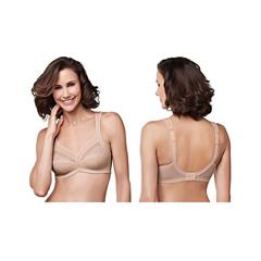 INDKU54323107-EA - AmoenaIsadora Wire-Free Bra, Soft Cup, Size 32G, Nude, Ref# 294832GNU, 1/EA