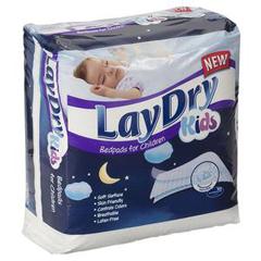 INDMCDUPLDUSKID-CS - McAirlaid's - Laydry Absorbent Bed Pads For Kids 24 x 36, 40/CS