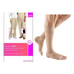 INDNE28107-EA - Medi - Extra Wide Calf with Silicone Band, 30-40, Open Toe, Beige, Size 7, 1/EA