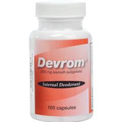 INDPADEVROCAP-EA - Parthenon - Devrom Capsules, Lactose Free, 100/Bottle, 1/EA