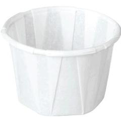 INDPAP18202704-CS - Papercraft - Paper Souffle Cup, 1 oz., 5000/CS