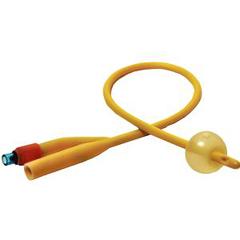 INDPCPF6524-EA - Peco Medical2-Way Silicone-Elastomer Coated Foley Catheter 24 Fr 5 cc, 1/EA