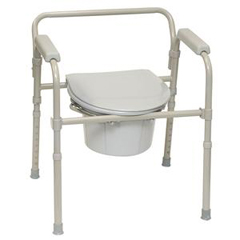 INDPMIBSFC-EA - PMI - ProBasics 3-in-1 Folding Commode, 350 lb. Weight Capacity, REPLACES ZCH720102, 1/EA