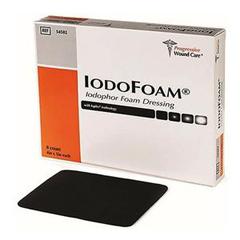 INDPWCS4502-BX - Progressive Wound CareIodoFoam Controlled Release Iodine Foam Wound Dressing, 4 x 5, 8/BX